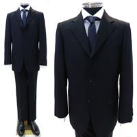 レンタルスーツ 濃紺3つボタンスーツ